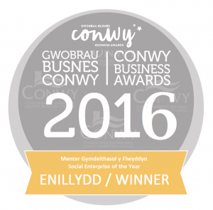 2016 Conwy Business Awards winner