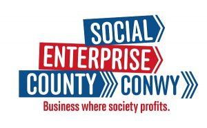 Logo - social enterprise county conwy