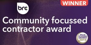 Community focussed contractor award