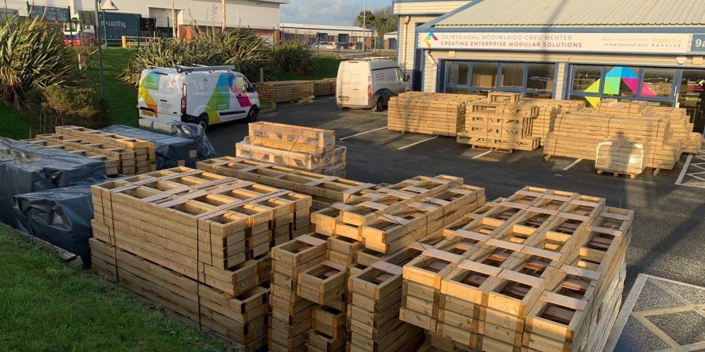 timber sticks