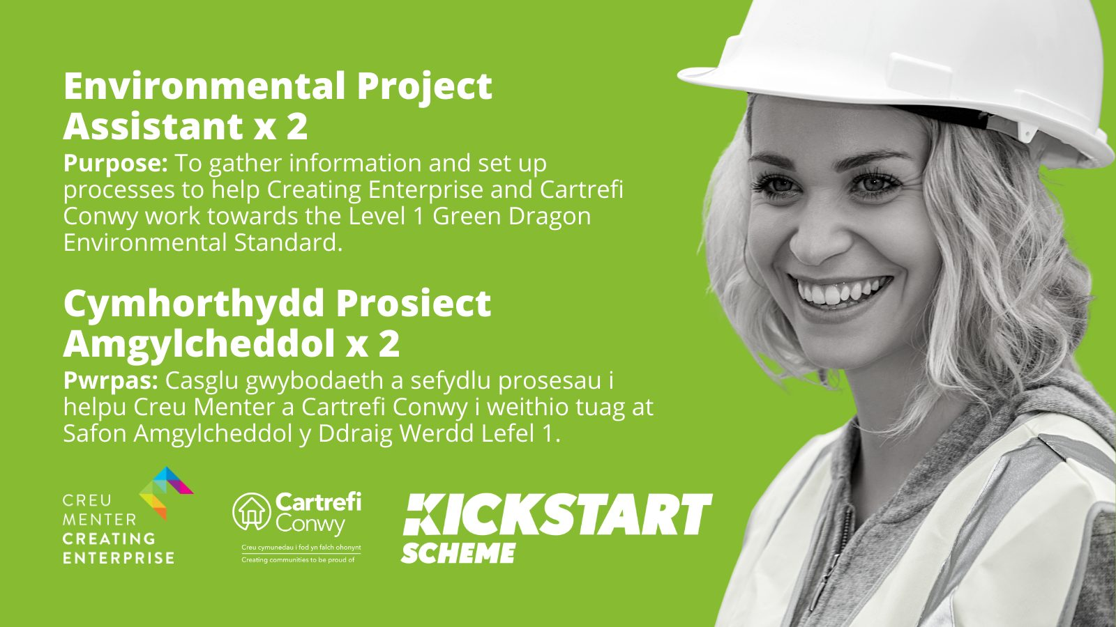 Environmental Project Assistant x 2