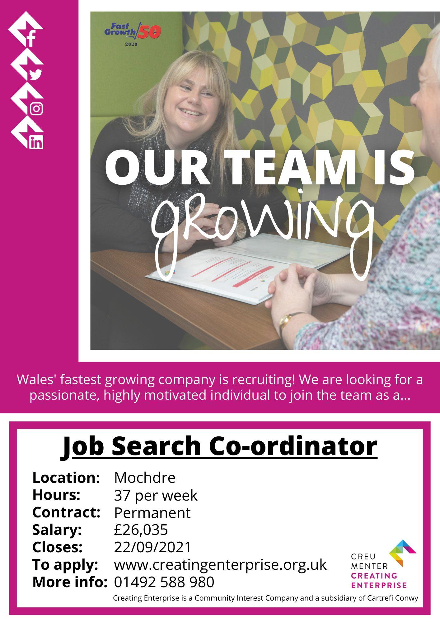 Job Search Co-ordinator