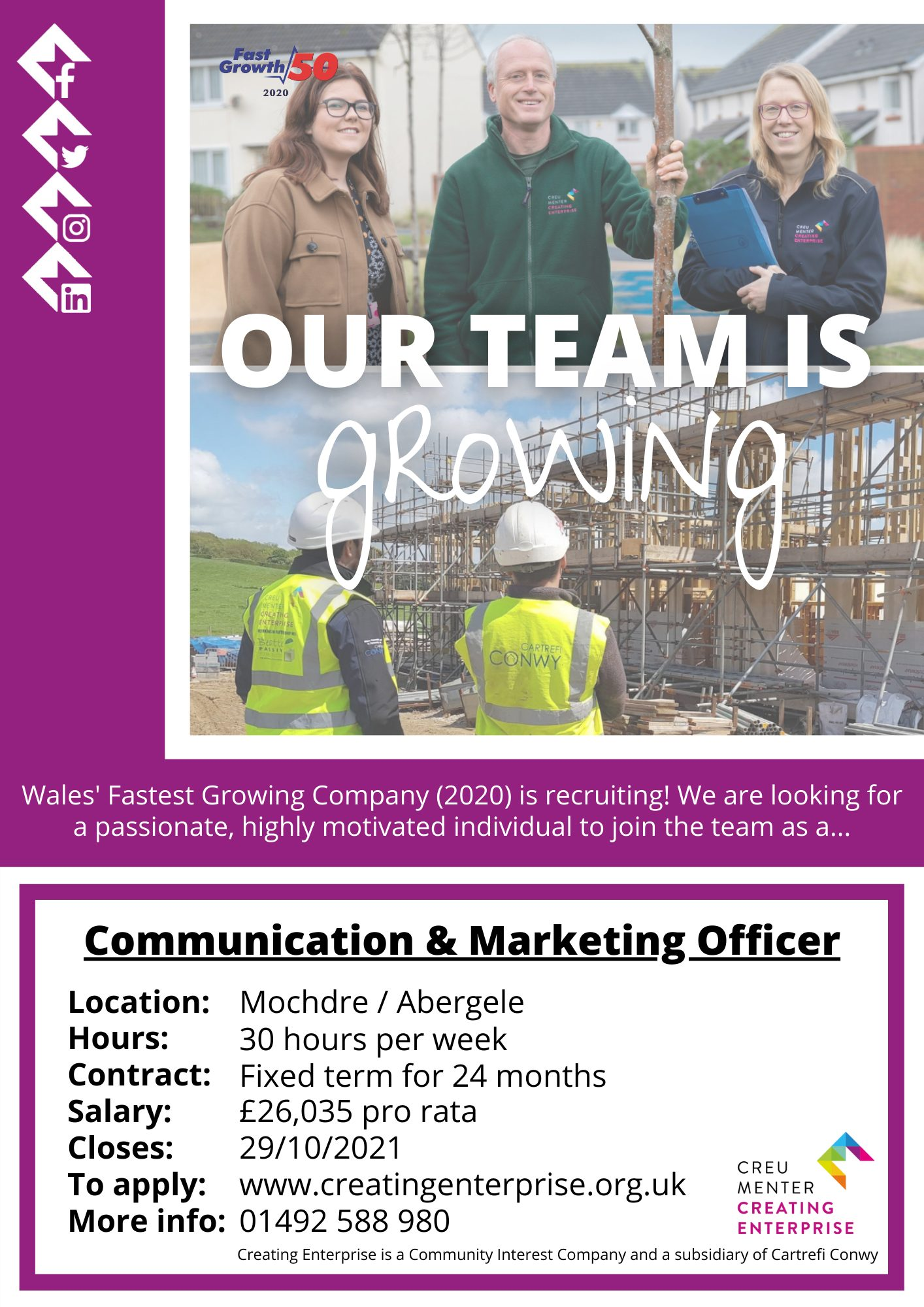 Communication & Marketing Officer