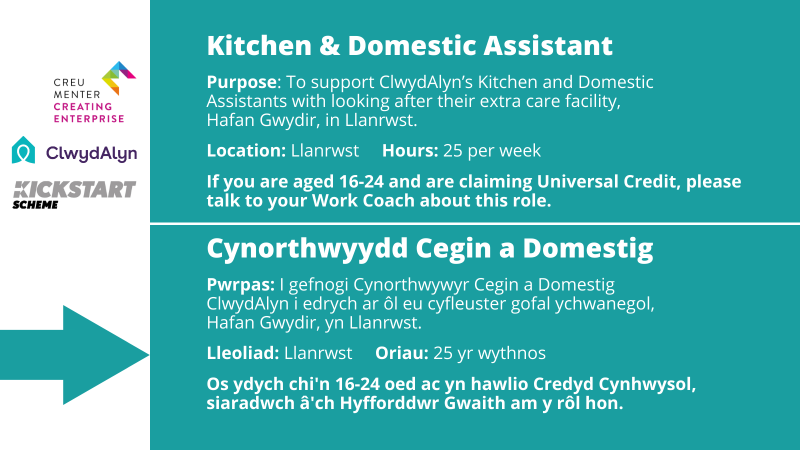 Kitchen & Domestic Assistant